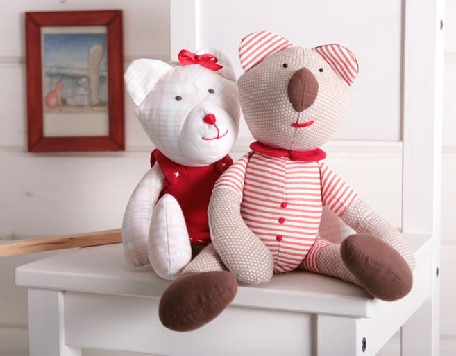Haraburdart, ručne šité hračky, Lula Haraburdová, handmade