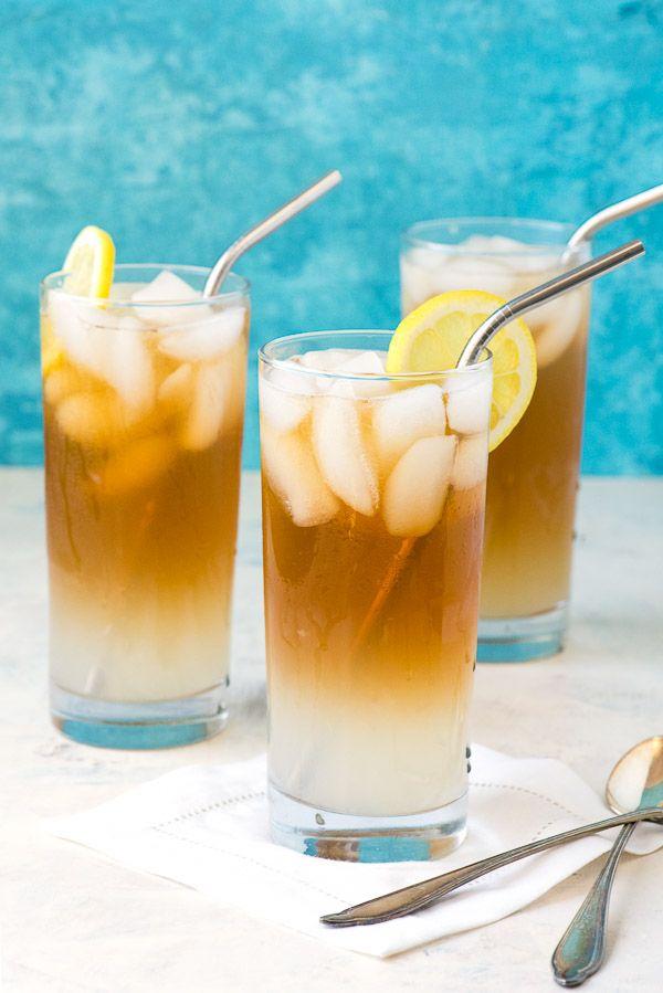 Earl Grey Lemon Vodka John Daly Cocktail. A refreshing lemonade, iced tea, lemon vodka sipper to keep you cool all summer long! from @boulderlocavore