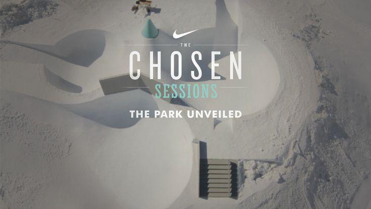 Nike Chosen Sessions - Park Unveiling - Action Park Build out