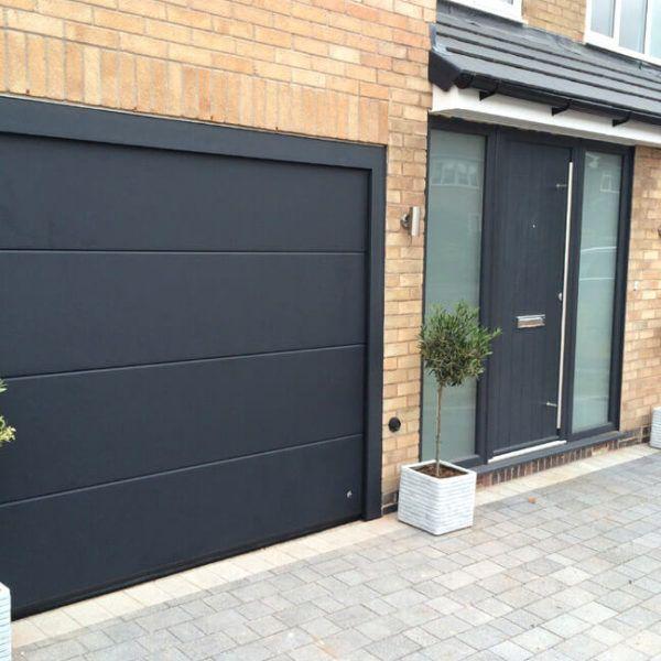 Matching Front Garage Doors Ryternagaragedoors Co Uk In 2020 Traditional Front Doors Front Doors Uk Contemporary Front Doors