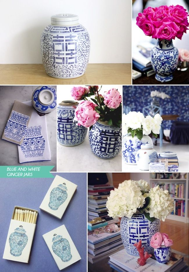 chinese blue and white porcelain (large vases and ginger jars) - Google Search