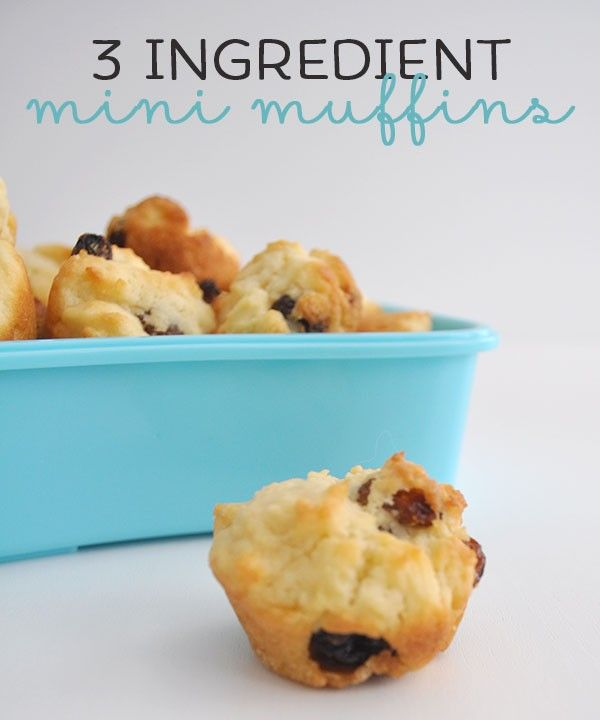{The-Organised-Housewife}-3-Ingredient-Mini-Muffins