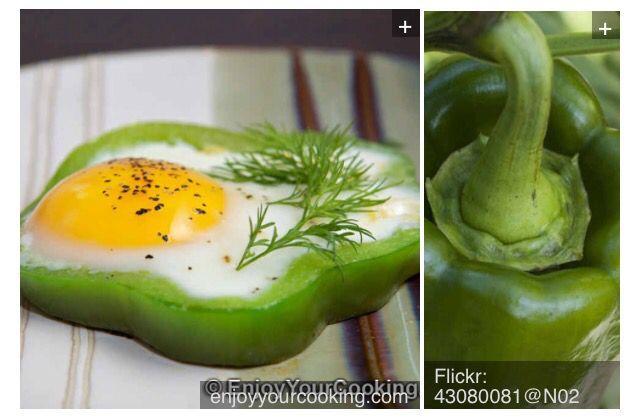 Pepper egg.
