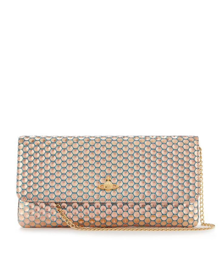 Honey Comb Clutch 6052 Light Blue #SS16