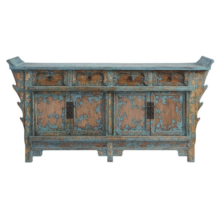 Dare Gallery - Flying Dresser Buffet antique blue