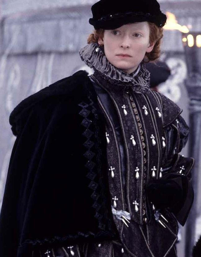 Tudor Costume - Orlando 1992 avec Tilda Swinton