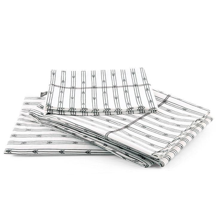 Arrow Stripe Sheet Set - Grey – SCOUT Lifestyle www.scoutlifestyle.com