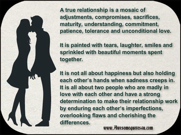 Awesome Quotes A True Relationship Quotes Love Quotes True