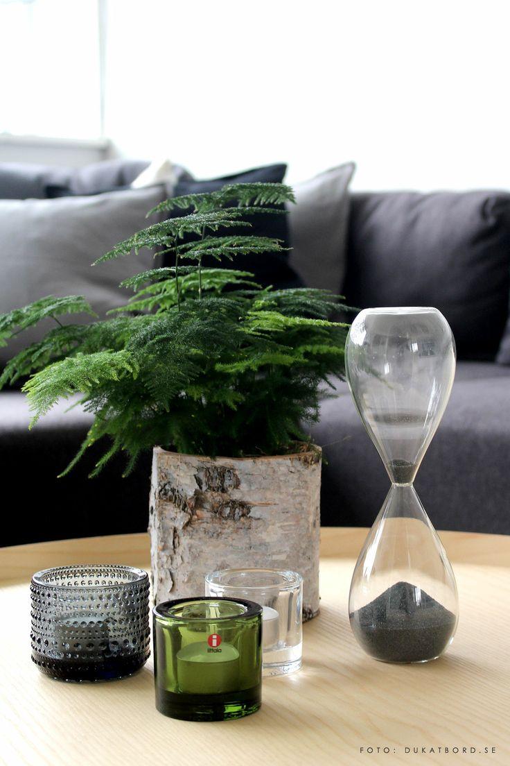 Time glass, timglas, House Doctor, Iittala, candleholders, Kivi, Kastehelmi, ljuslyktor - www.dukatbord.se