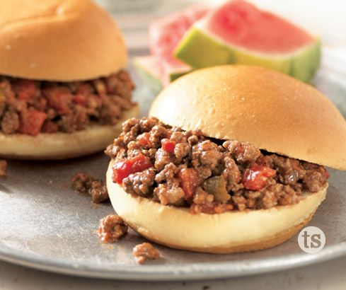 There is a sweet and smoky flavor in these sloppy Joes that adds a twisty to an old favorite.