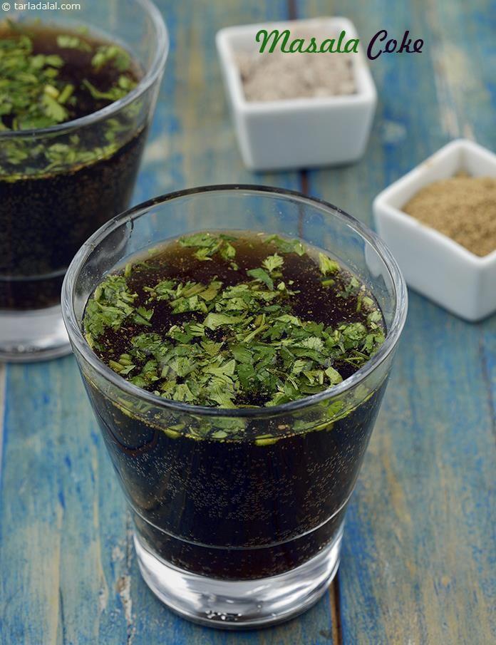 Masala Coke recipe | by Tarla Dalal | Tarladalal.com | #41239