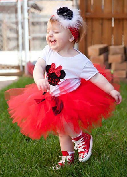 Kırmızı-Kız Çocuk-Tütü-Modeli