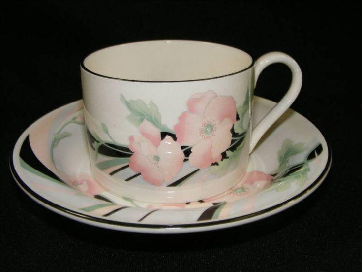 Vintage Sango Dinnerware Jolie Cup and Saucer #Sango