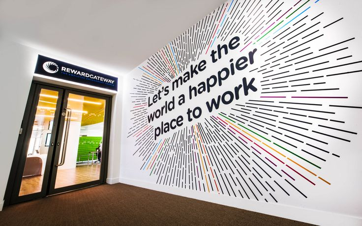 17 Best ideas about Office Wall Graphics on Pinterest