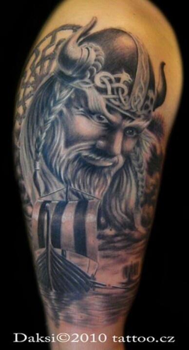 viking tattoo viking lore pinterest viking tattoos vikings and tattoos and body art. Black Bedroom Furniture Sets. Home Design Ideas