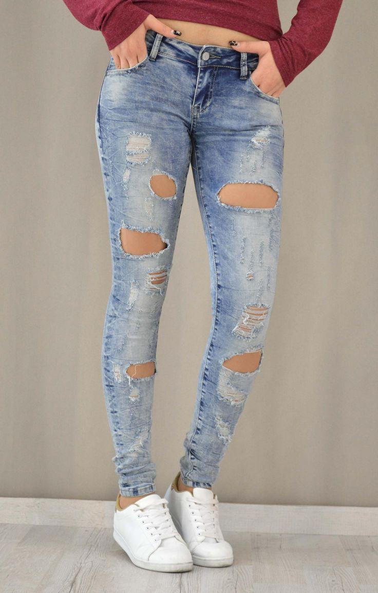Γυναικείο denim skinny wash | Γυναίκα - Jeans & Denims -