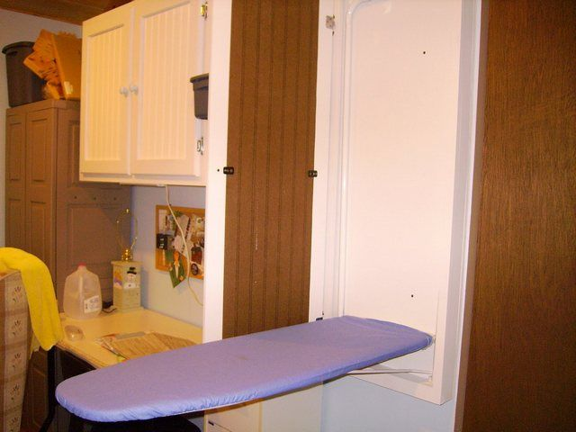 Built In Ironing Board Cabinet Lowes Woodworking
