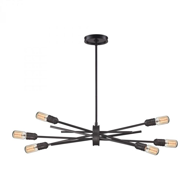 xenia 6 light chandelier in oil rubbed bronze kirby risk