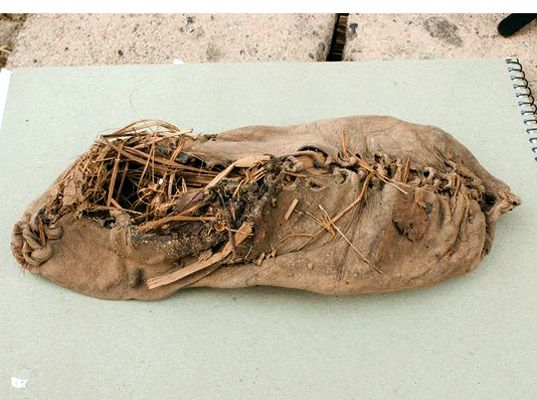 5,500-Year-Old Leather Sneaker Discovered in Armenia—World's Oldest? | Ecouterre