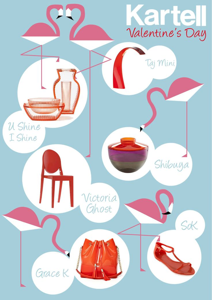 Valentines day wishes from Kartell