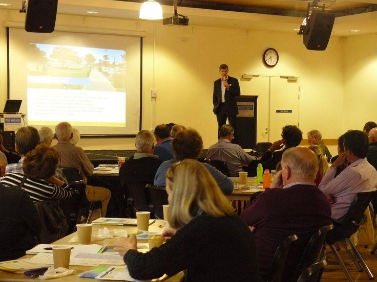 Jeff Egan facilitating community workshop
