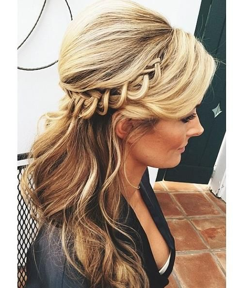 Maid of honor updo
