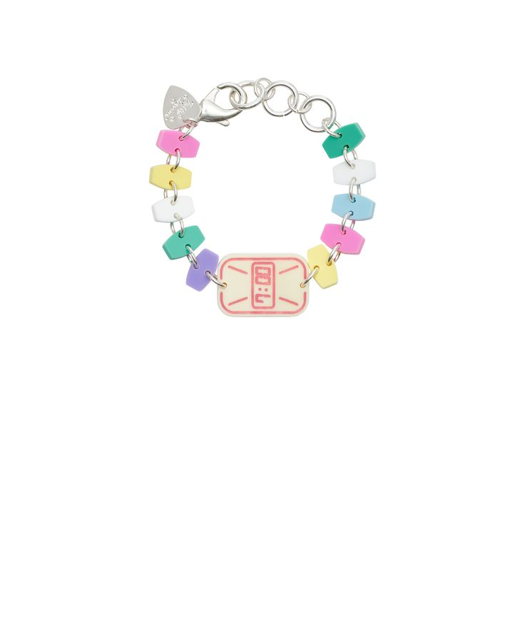Candy Watch Bracelet - There's always time for sweets with the Candy Watch Bracelet! A childhood favourite is laser cut in a pastel palette to create a playful piece of arm candy that looks good enough to eat. Exclusive to Tatty Devine.