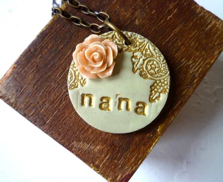 Mother's Day  Grandma Necklace  Name Necklace by Palomaria on Etsy, $30.00