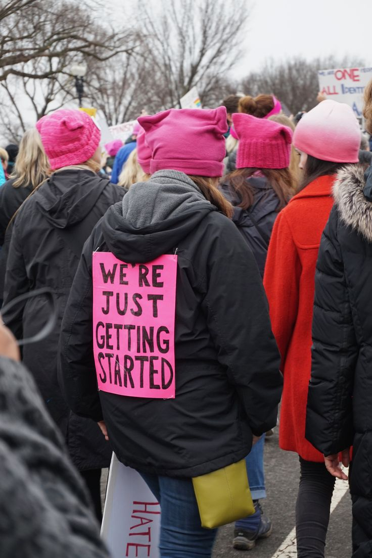 The absolute best protest signs from the Women's March on Washington