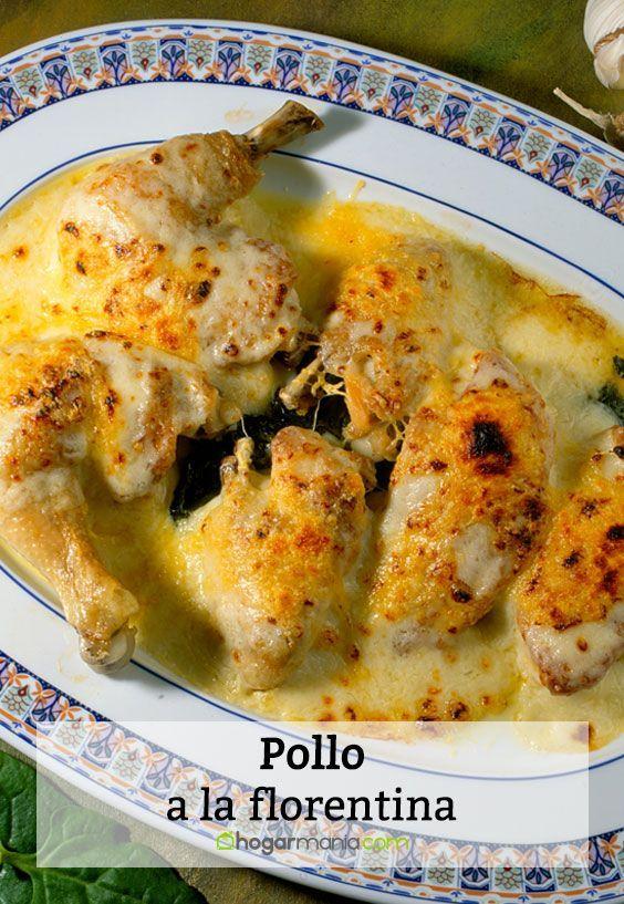 Pollo a la florentina