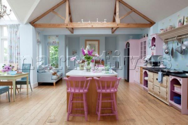 Decorating With Pastels | Pastel Coloured Kitchen Decorating Ideas - Best Interior Design Blogs