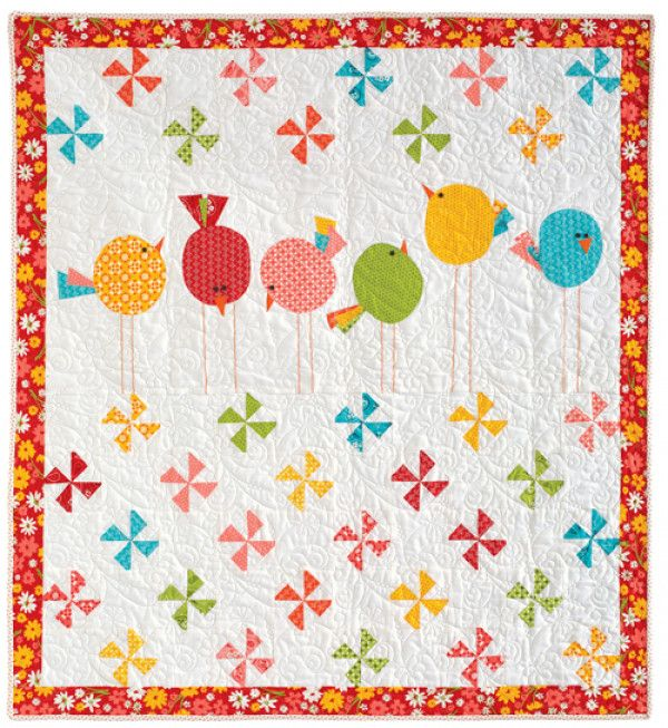 Floating Squares Quilt Pattern