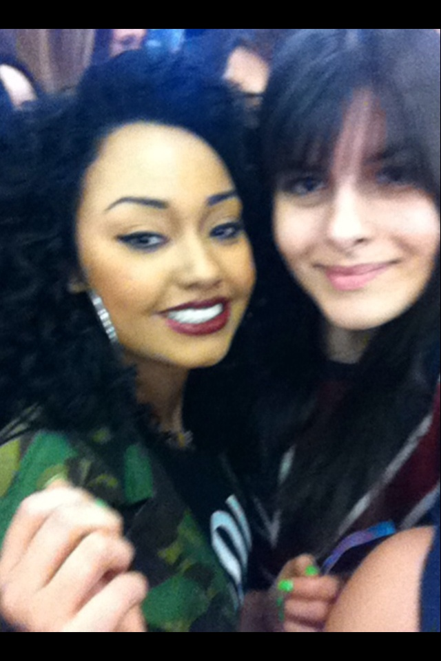 Me and Leigh-Anne she is amazing ok - Katherine xx