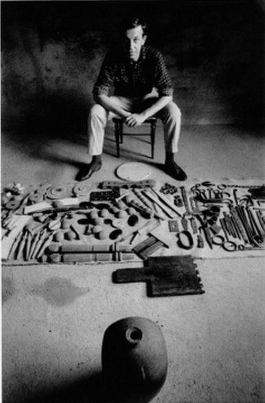 Libor Fára (1925-1988), 1968, photographed by Josef Koudelka.