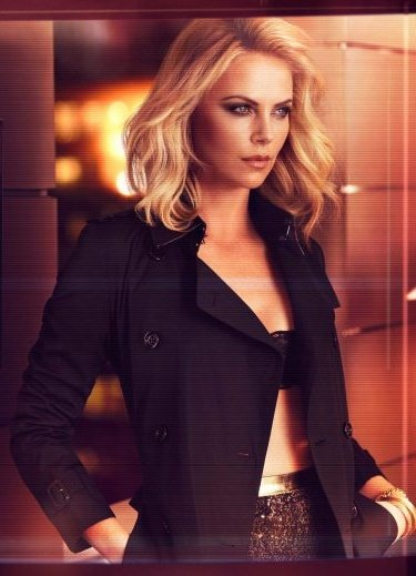 theron with short hair in instyle