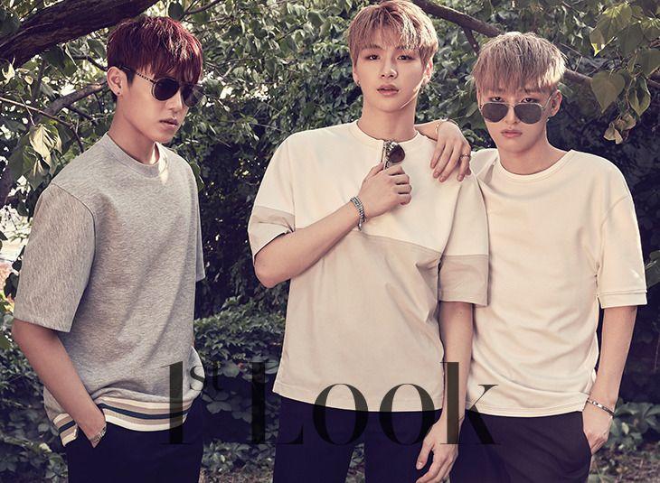 Park Woojin, Kang Daniel, Yoon Jiseong (Wanna One) - 1st Look Magazine 13 vol. 137
