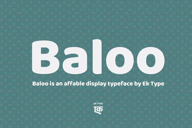 Baloo Free Indian Font Family is a distinctive heavy smoth design with a subtle…