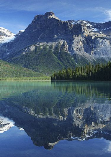 Yoho National Park  is British Columbias sister to Albertas Banff National Park