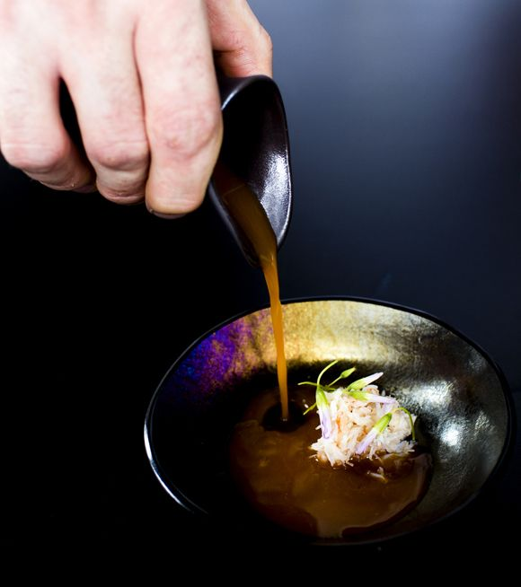 Whitby Crab and Bisque.