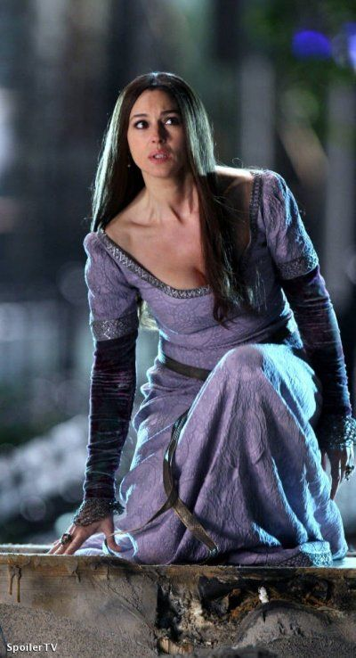Sorcerer's Apprentice Monica bellucci | June 20, 2009 - The Sorcerer's Apprentice / Monica Bellucci spy photos