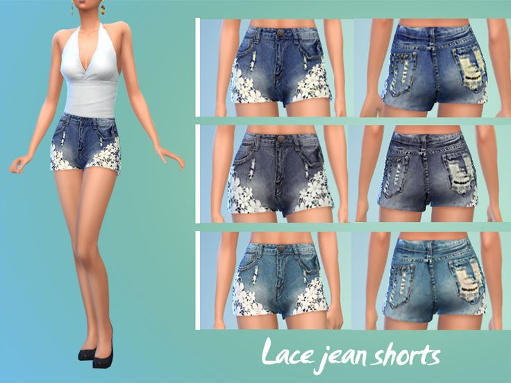 17 Best ideas about Lace Jean Shorts on Pinterest | Diy outfits ...