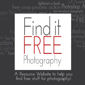 Find Everything FREE for Photography! This is a resource website that links to photographers and bloggers who offer Freebies like Lightroom Presets, Lightroom Templates, Photoshop Actions, Photoshop Templates, Textures, E-books and more!