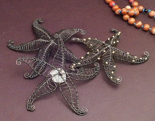 TheAngstyArtist: Wire Starfish