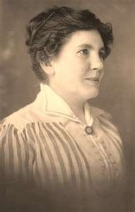 Laura Ingalls Wilder - an incredible woman.  If you read her story ... a true friend of God.