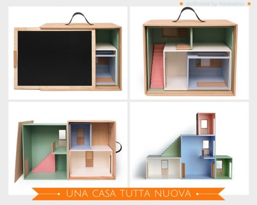 portable dollhouse by Haseweiss via designperbambini.it