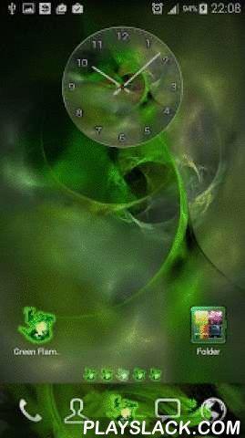 Green Flame GO Theme  Android App - playslack.com ,  Een mooie GO Launcher Theme geïnspireerd door de natuur, met fractal vormen en een unieke stijl op de app iconen, abstracte wallpapers, map en app lade interface.Krijg het nu en hebben een compleet nieuwe make-over van uw apparaat!Om dit thema te gebruiken, moet u hebt geïnstalleerd GO Launcher. De Green Flame GO thema is compatibel met de GO Launcher EX en met de huidige nieuwe 2015 versie van GO Launcher Z.*** Hoe Deze achtergrond…