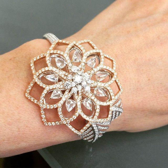 Floating diamonds from Nirab Modi