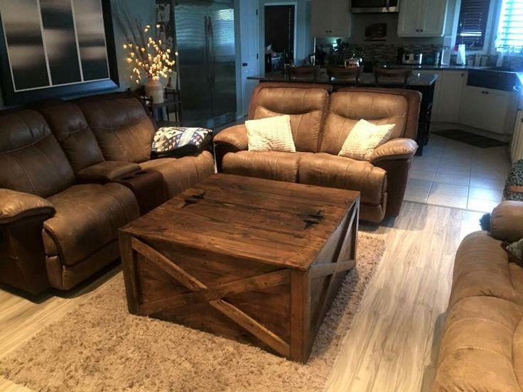Vintage Wood Pallet Coffee #Table | Pallet Furniture