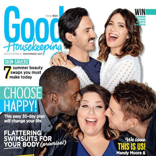 Get the November issue of GH today! The new issue of Good Housekeeping magazine, with the talented cast of This Is Us on the cover, is on sale now!