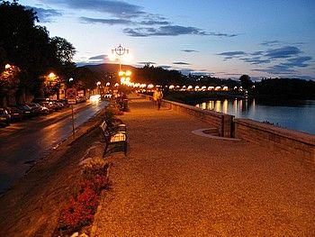 Szentendre, Hungary. Evening